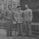 Mustafa Çokay Arkadaşlarıyla (Paris - 1937)
