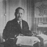 Mustafa Çokay Evinde Yaş Türkistan'ı Hazırlarken (Nogent Sur Marne - 1930)