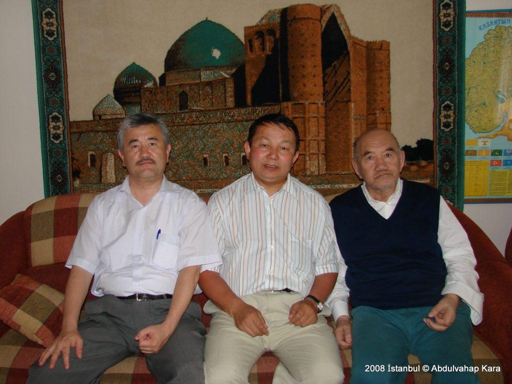 Kazak göç liderlerinden Delilhan Canaltay ile